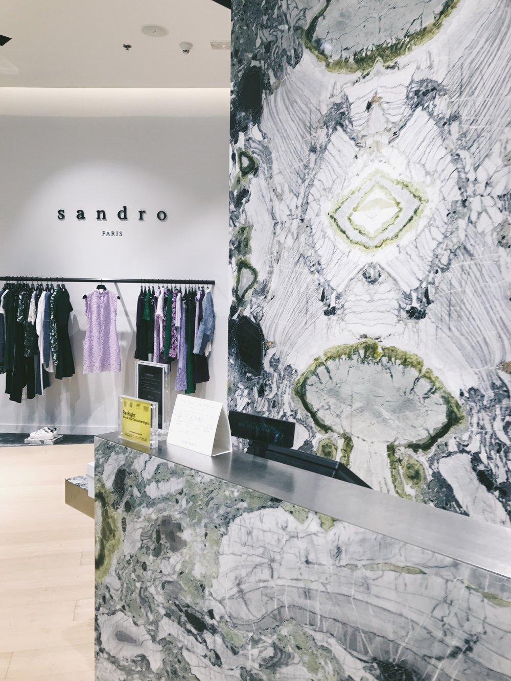 Dubai Mall Sandro