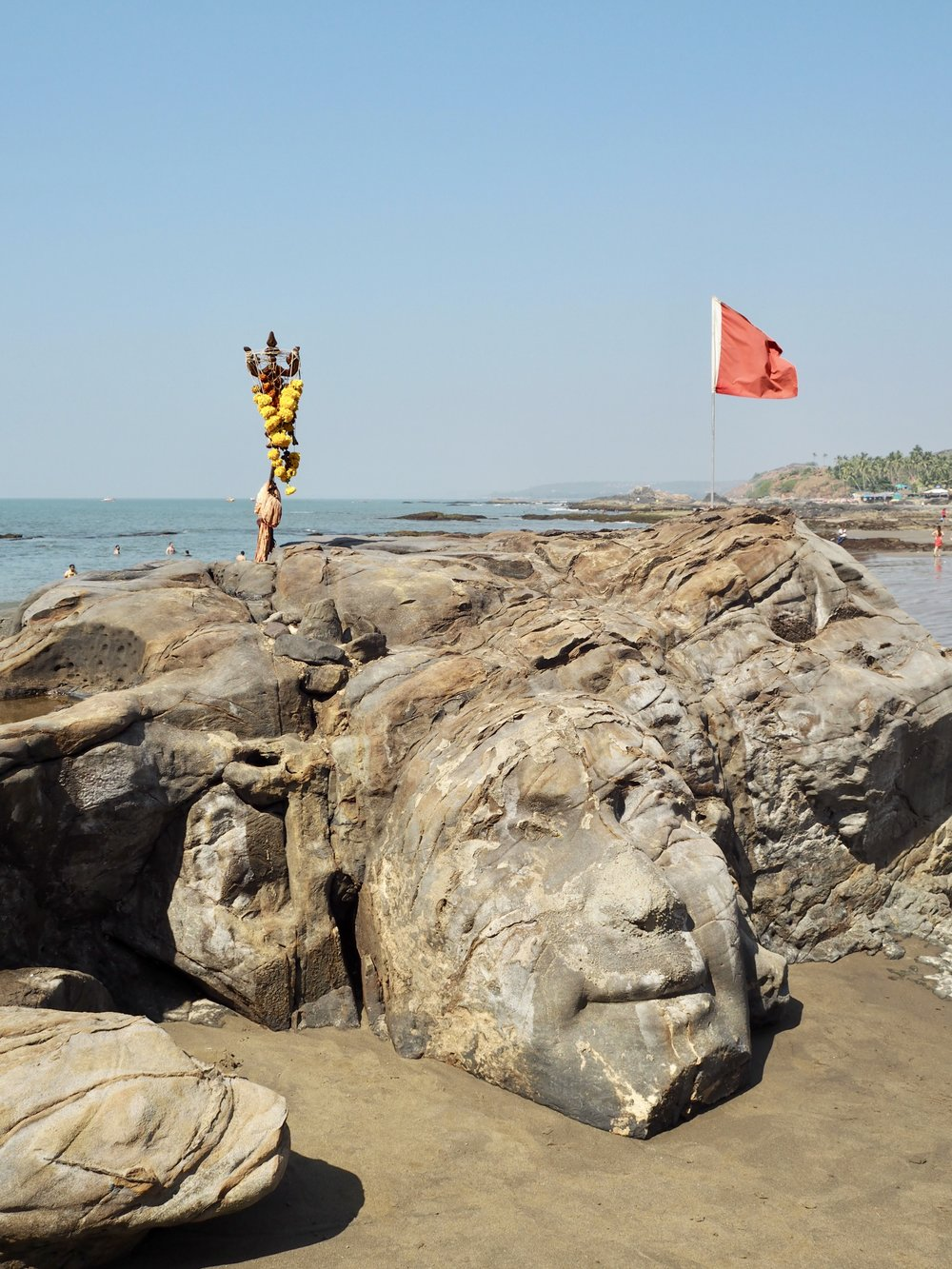 Vagator Beach / Shiva Rock