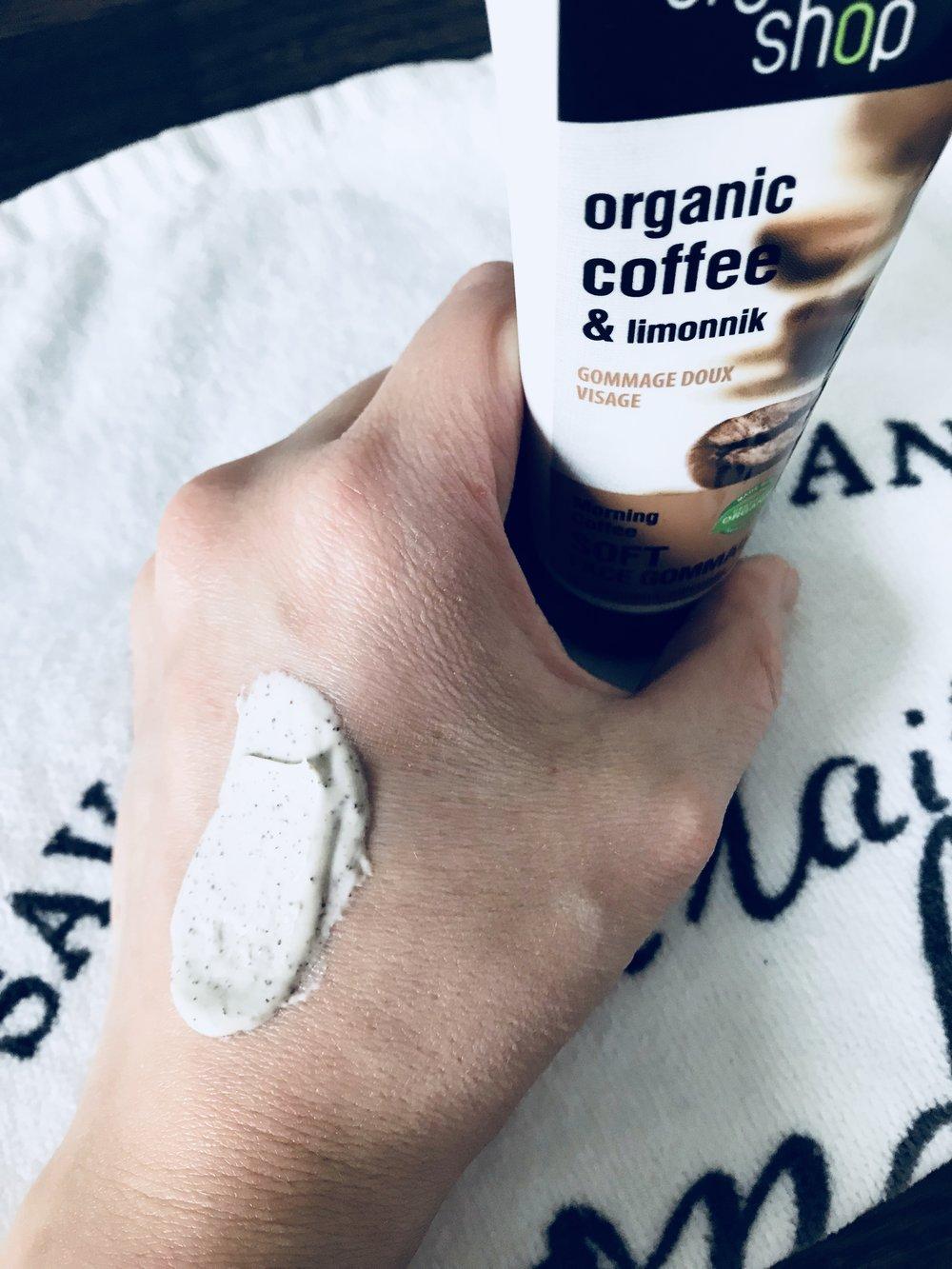 Organic Shop face peeling