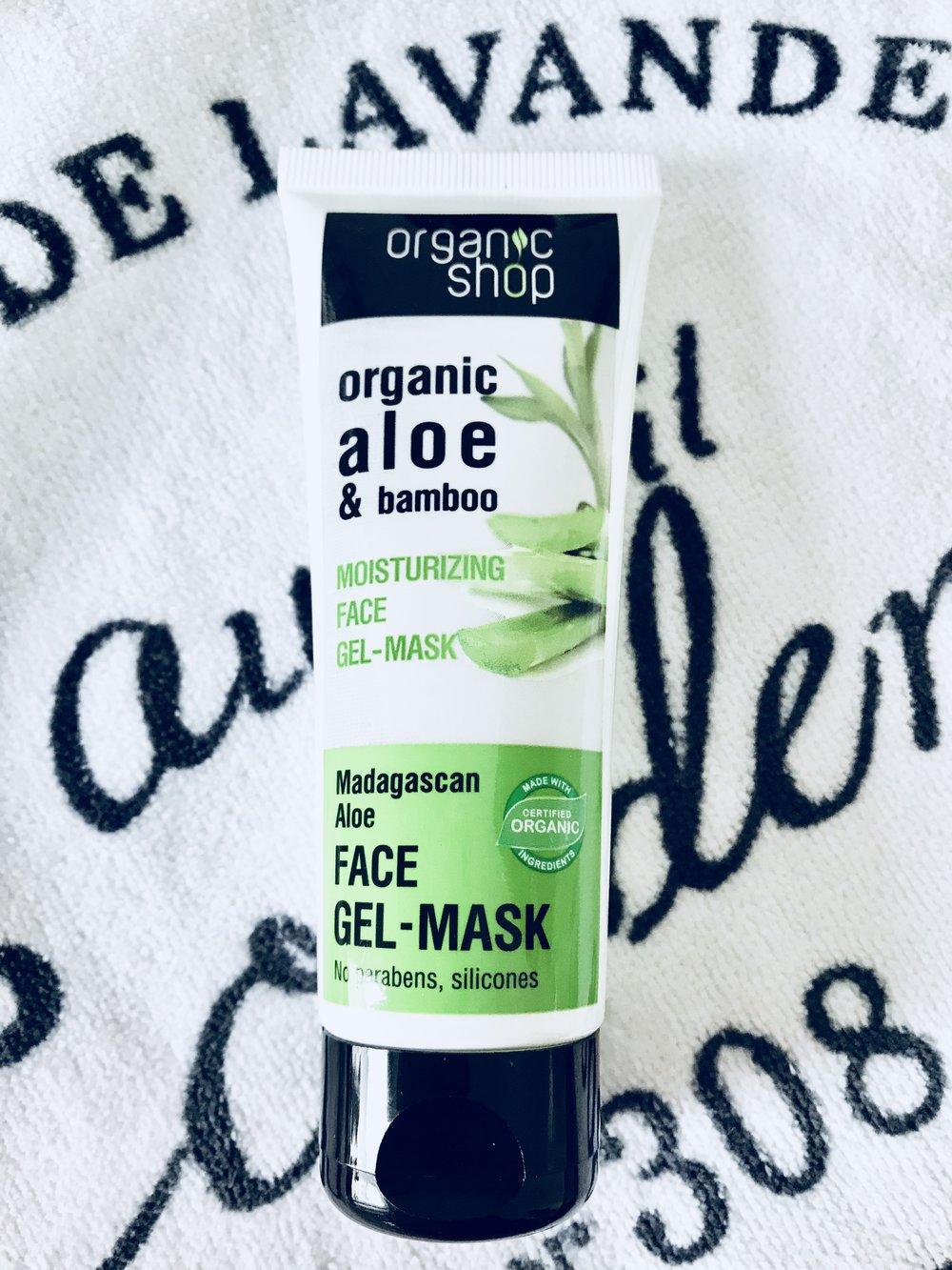 Organic Shop moisturizing face mask