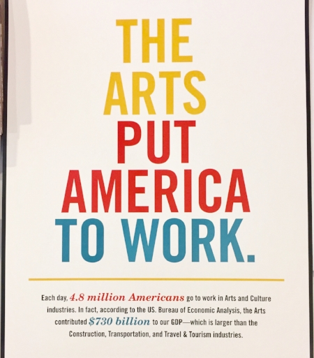 American for the Arts campaign poster. Photo credit: Jacque Donaldson