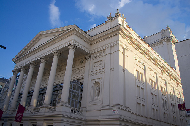 Royal Opera House, London (Photo credit:  Joshua Brown on   Flickr )
