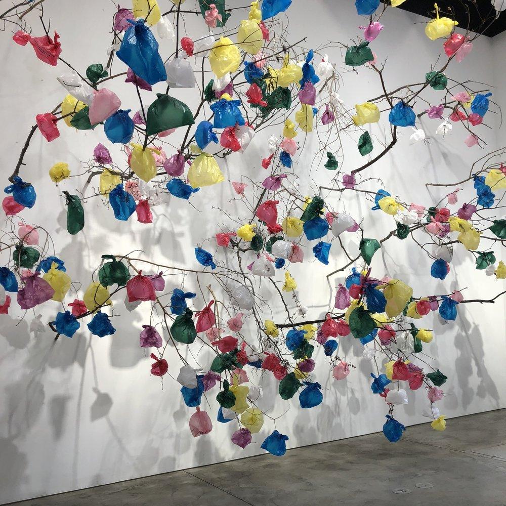 installation by  Pascale Marthine Tayou at Richard Taittinger Gallery. Photo credit: Jacque Donaldson