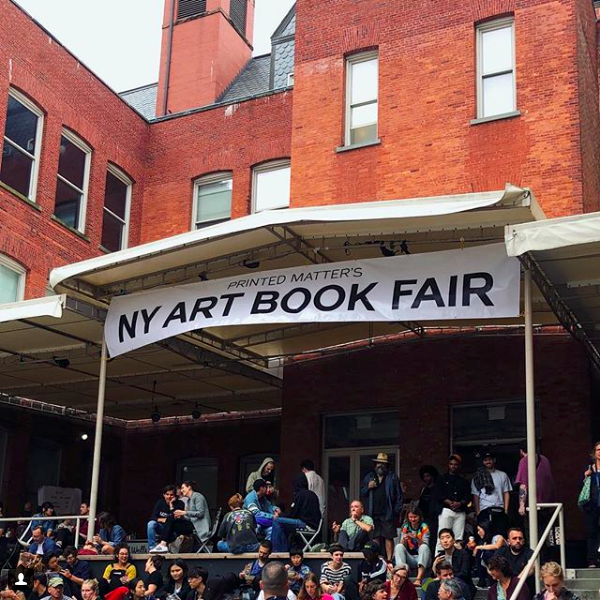 New York Art Book Fair at MoMA PS1. Photo by Jacque Donaldson