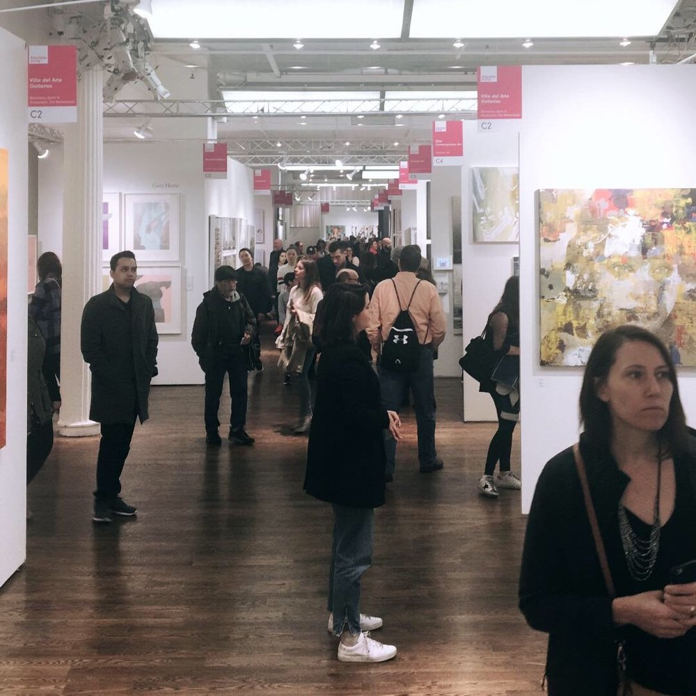 Affordable Art Fair, NYC. Photo Cred: YPA NYC