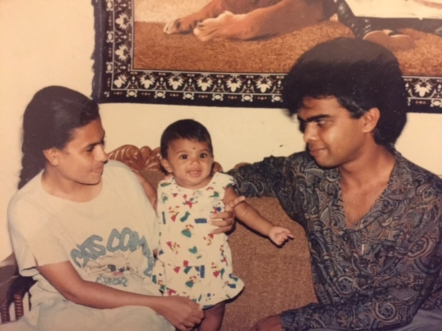 Enjoying some family time, circa 1992 #scaryimmigrants.