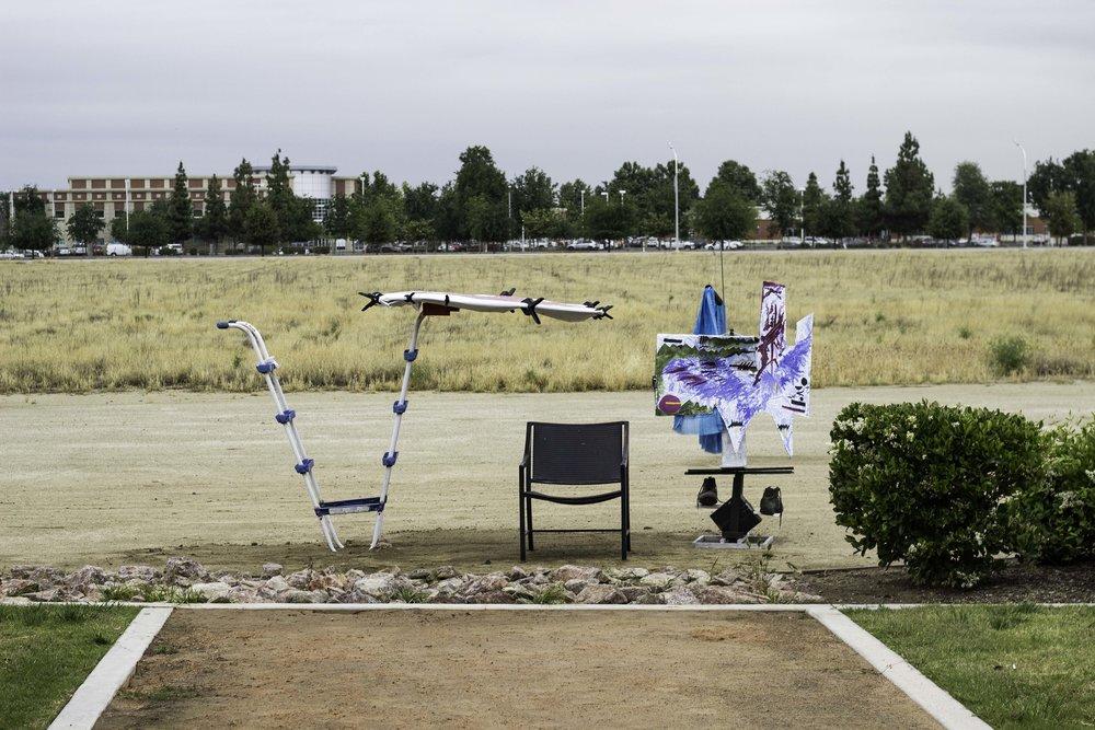 'Breath of fresh air', Sculpture installation, April 2016