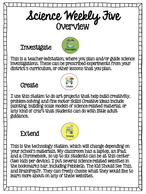 3 of 5 stations Science Weekly Five