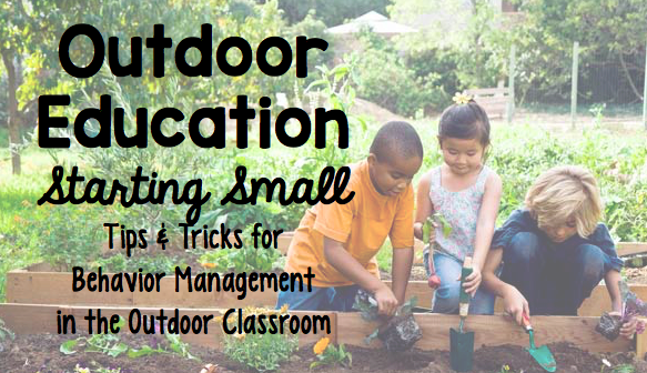 Outdoor Education Starting Small