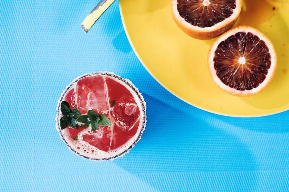 Blood Orange Margarita // Puesto // San Diego