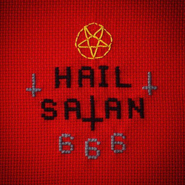 #oscarinristipisto #hailsatan #666