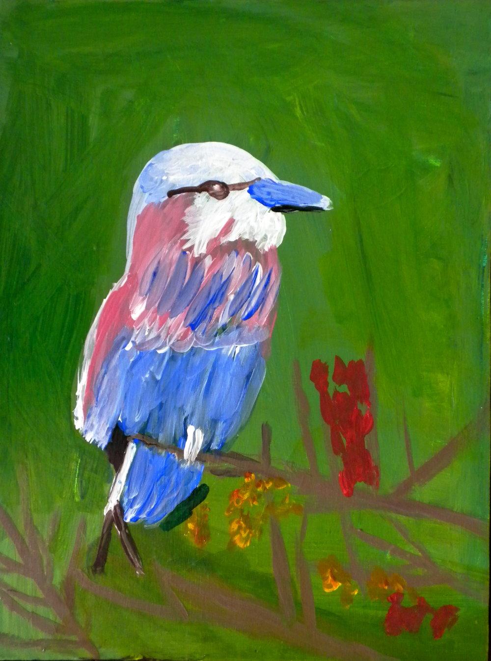 A Colorful Bird, Karen C.jpg