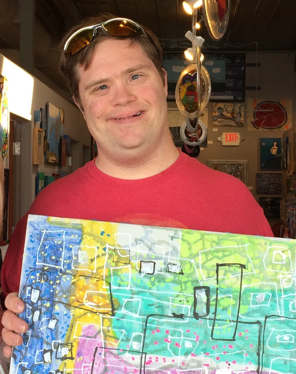 Scott with his art.jpg