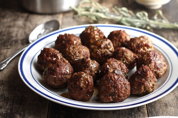 Herby Meatballs