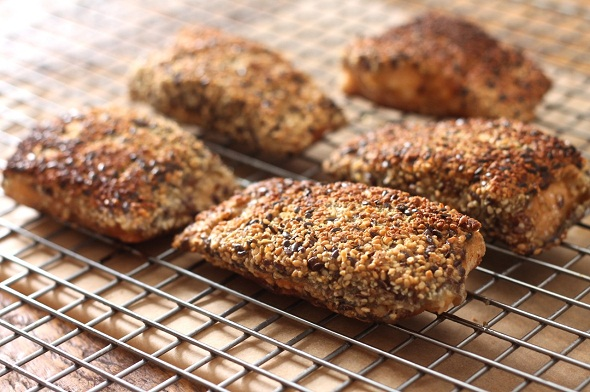 Seed-Crusted Arctic Char