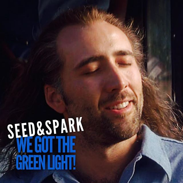 How we feel right now because we got the GREEN LIGHT on #seedandspark! This means we get to keep all money pledged so far and anything else we raise! THANK YOU to everyone who got us to $4,000! We still have a little less than $1000 until our total goal, and need a little less than 150 followers to unlock Level 1 Perks - so keep on sharing, keep on pledging, and keep on following! 8 days left! • • • • • • #newneighborhoodseries #webseries #newyork #brooklyn #comedy #hipster #funny #nyactors #columbia #mfaactors #graduateactors #womeninfilm #indiefilm #seasontwo #comingsoon #behindthescenes #campaign #crowdfunding #greenlight