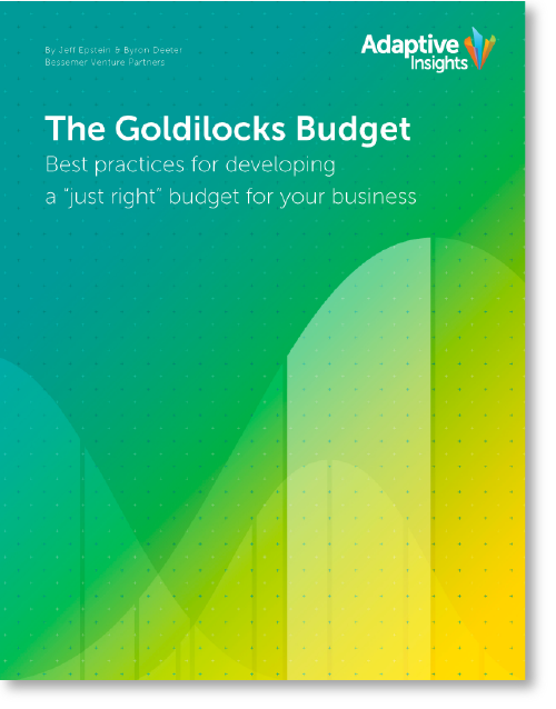 The Goldilocks Budget Adaptive Insights
