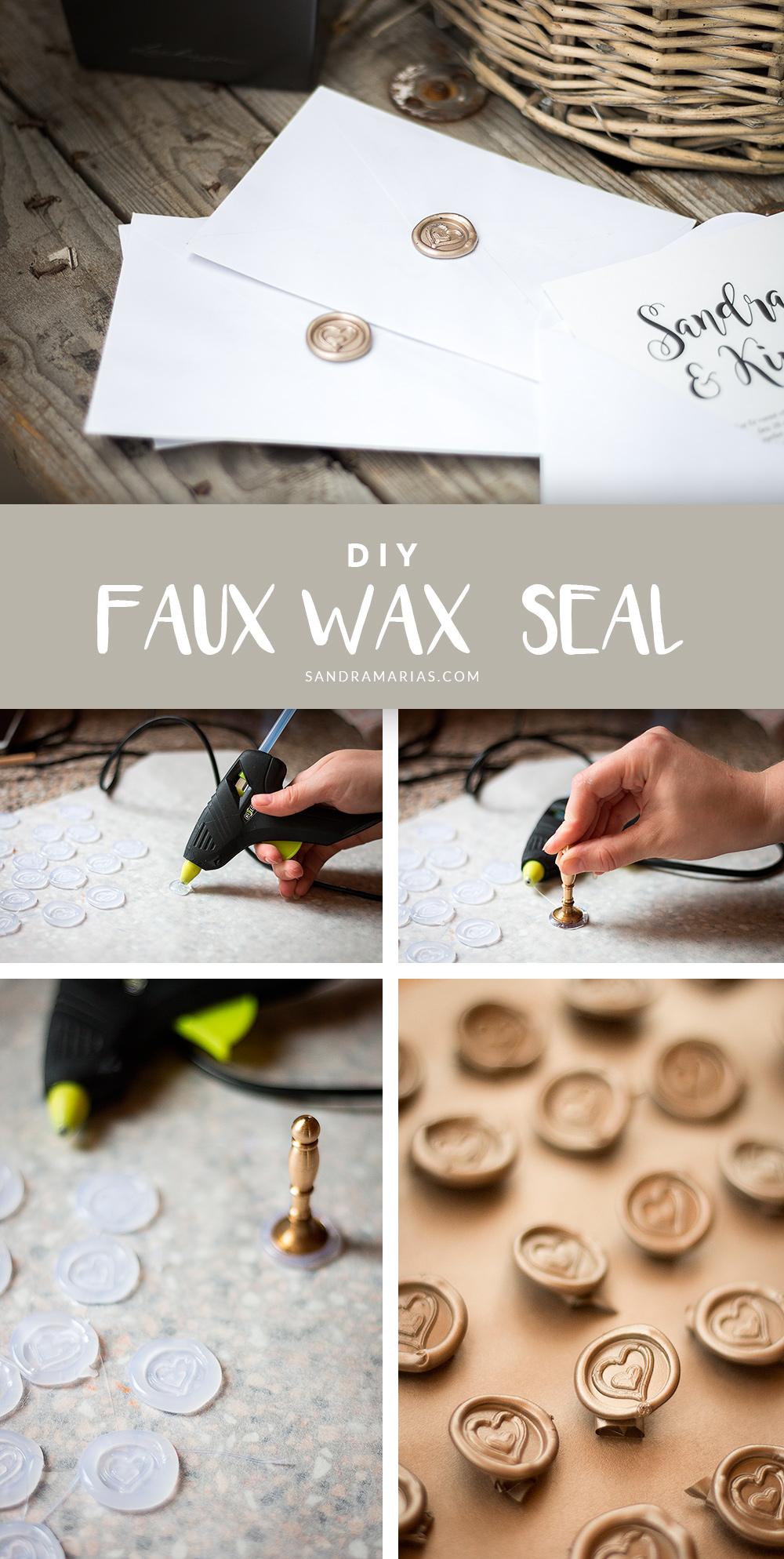 DIY | Fusk sigill som ser äkta ut | Sandramarias.com