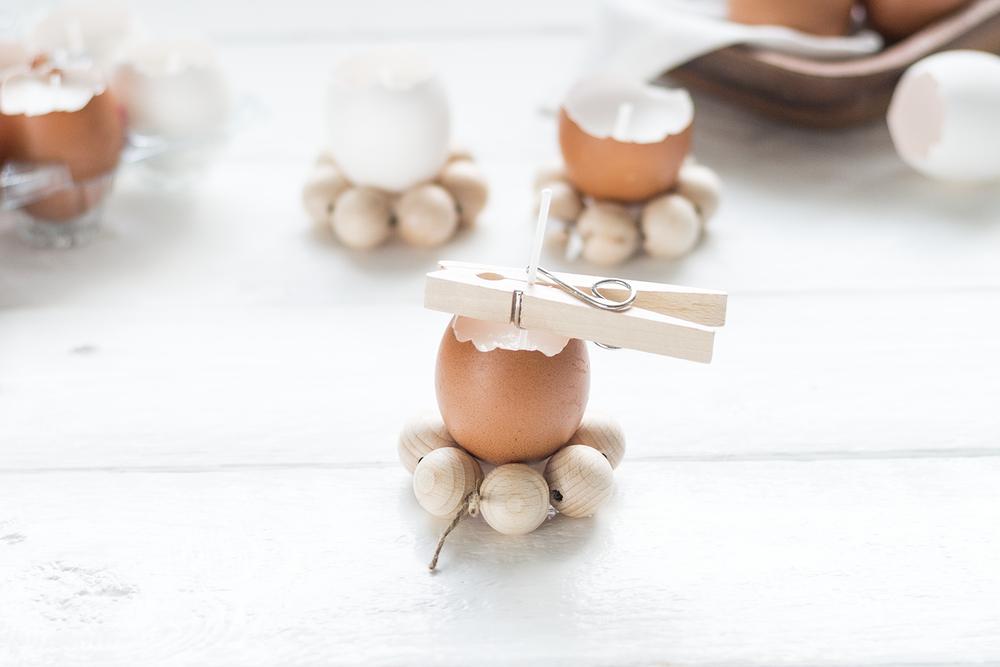 Äggljus med äggkoppar | DIY | Strömsö 2017 | Sandramarias.com
