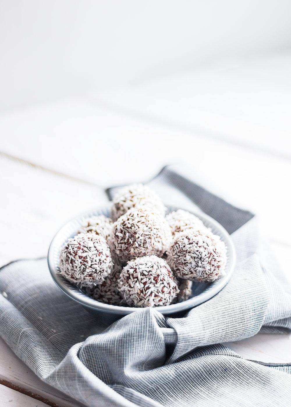 Chokladbollar   Recept   Sandramarias.com