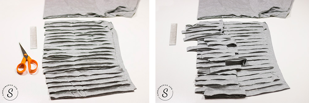 DIY Garn av trikå | Sandramarias.com
