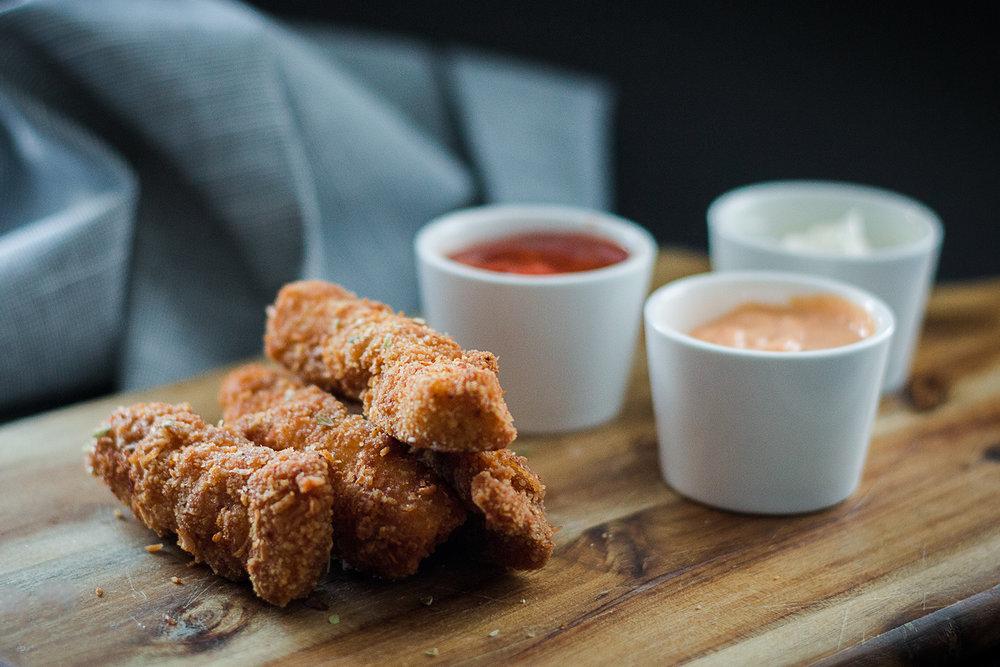 Krispig kyckling | Recept | Sandramarias.com