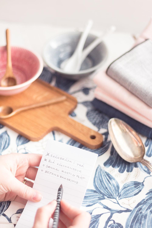 Samla ihop din egen rekvisitabank | Steg för steg tips | Sandramarias.com