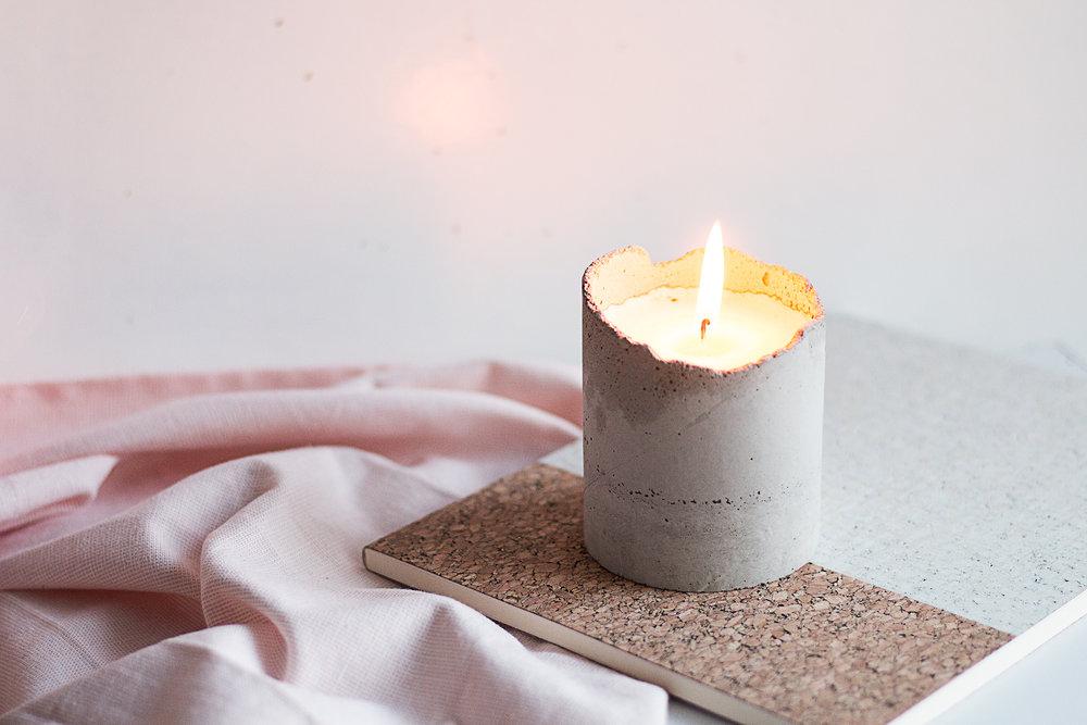 DIY | Mysigaste betongljusen | Sandramarias.com