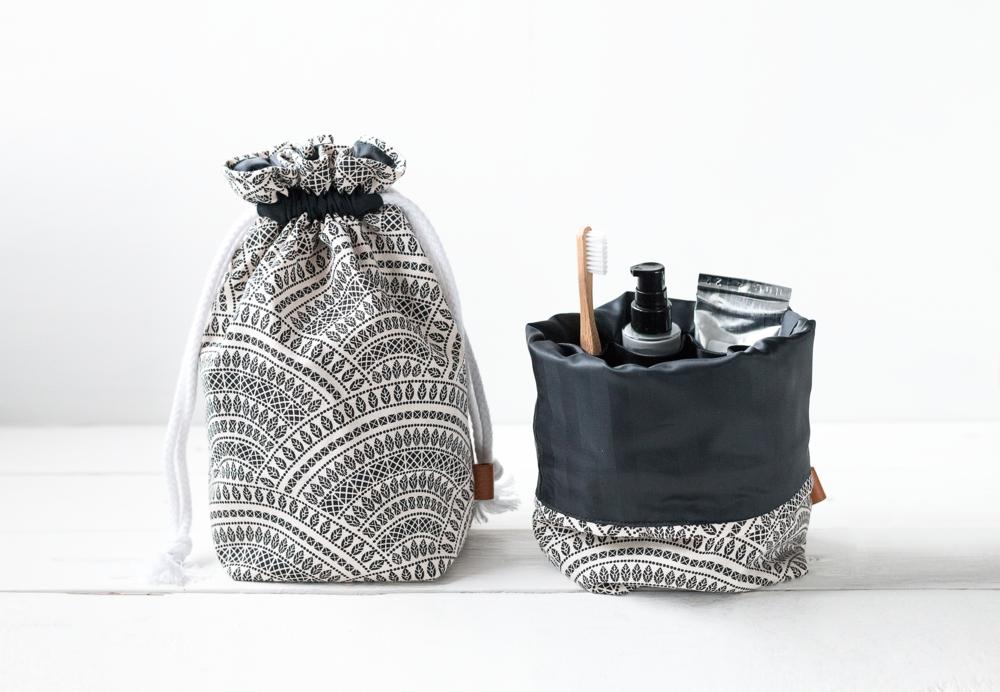 Boho drawstring toiletry bag | Finnish design by Sandramaria | Sandramarias.com.jpg