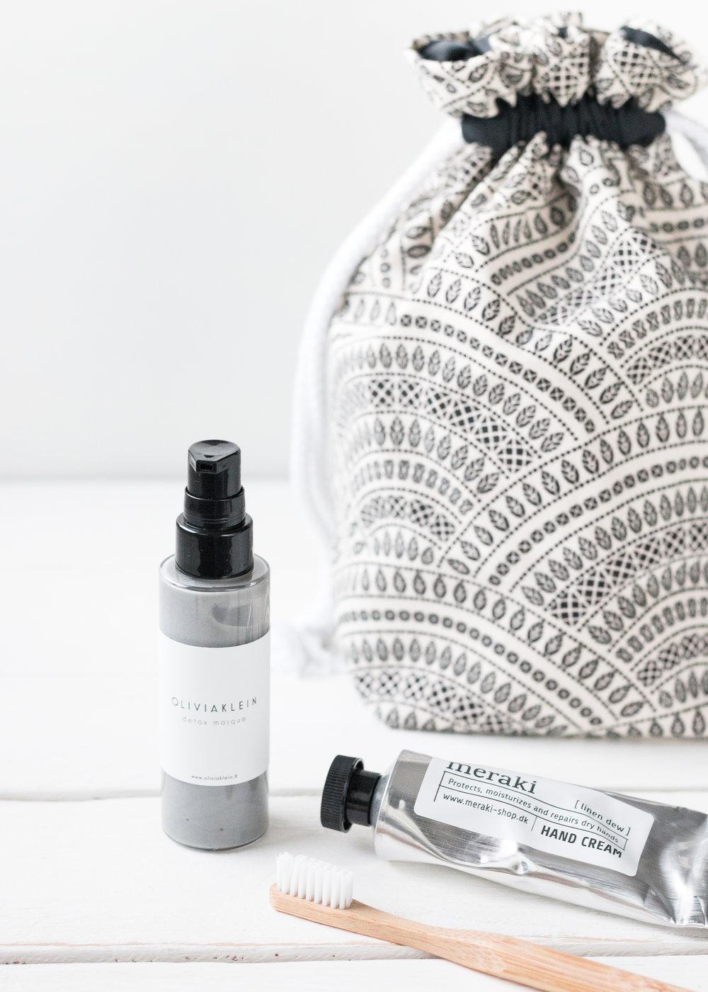 Boho drawstring cosmetic bag | Finnish design by Sandramaria | Sandramarias.com.jpg