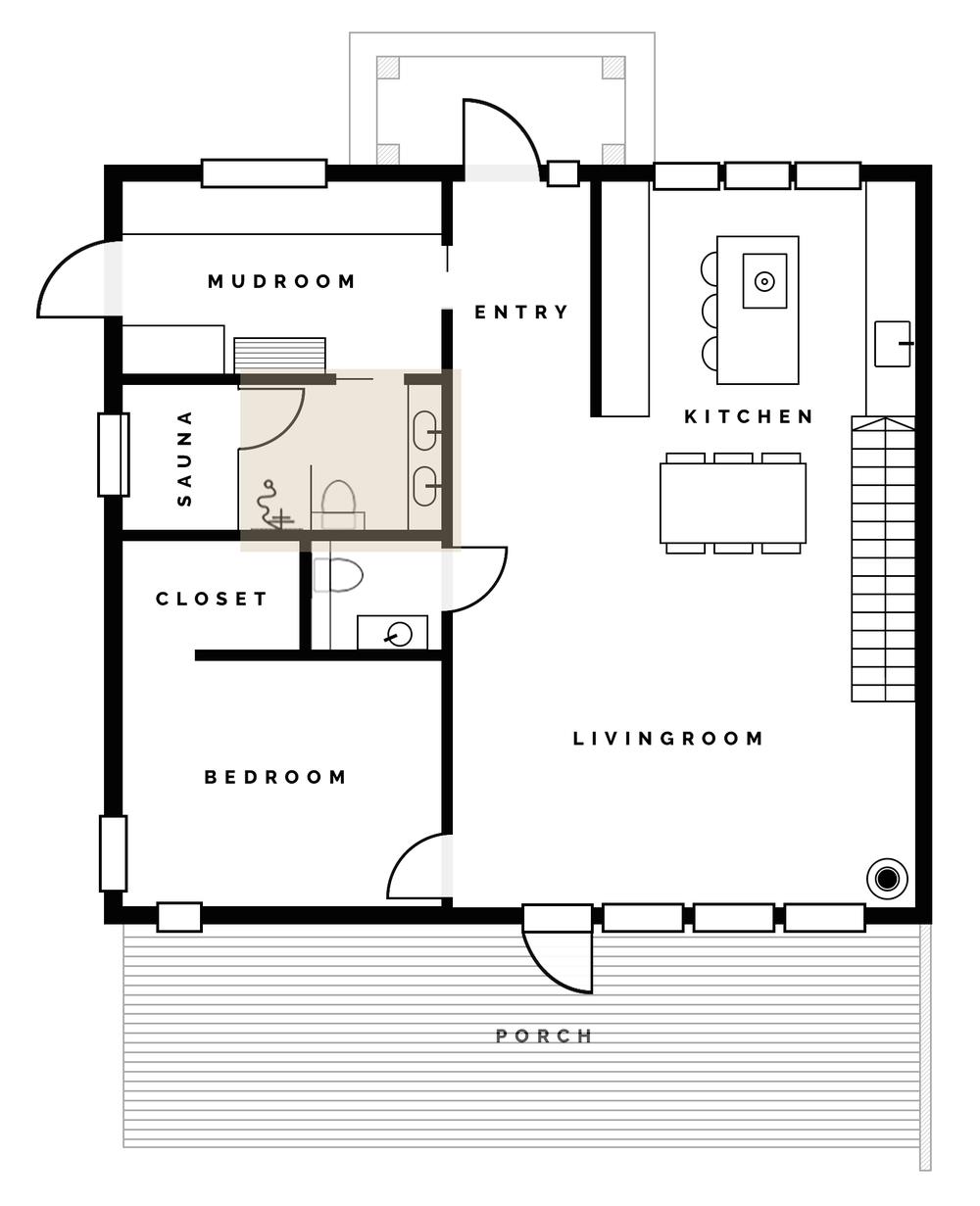 Vi Bygger Hus! | Badrumsplanering | Planlösning i badrummet | By Sandramaria | Sandramarias.com