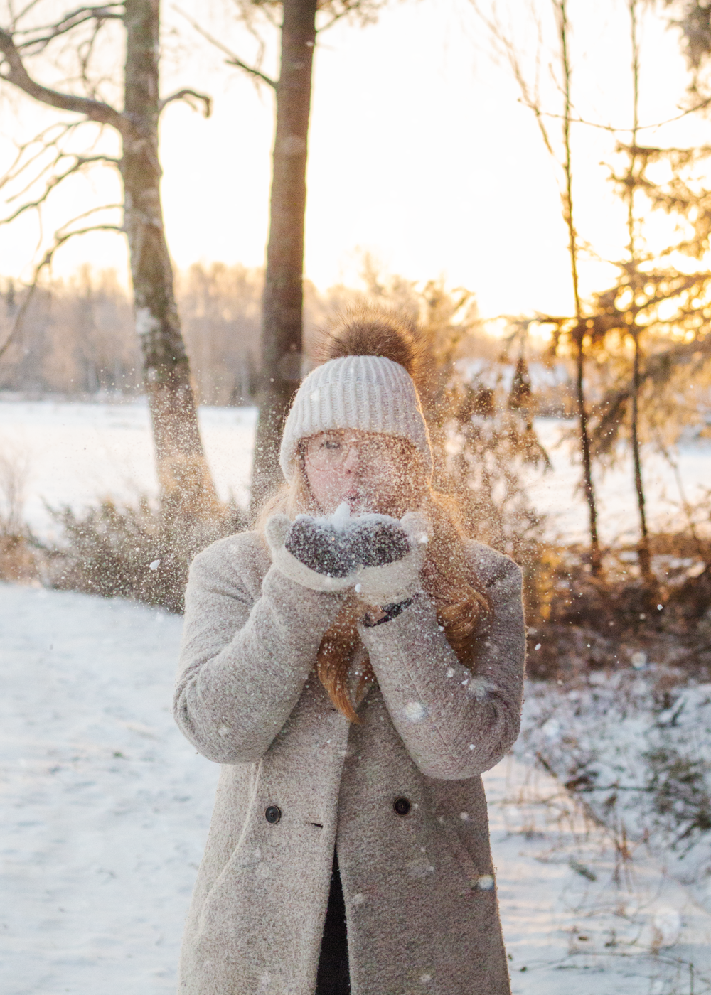 Bucket list 2019 | Vackert finskt vinterlandskap | Sandramarias.com