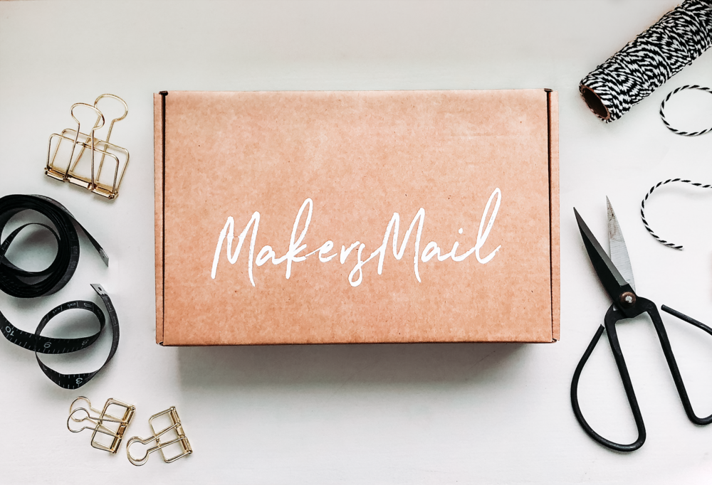Makers Mail | DIY box | Hantverksprenumerationstjänst i Norden | By Sandramaria | Sandramarias.com
