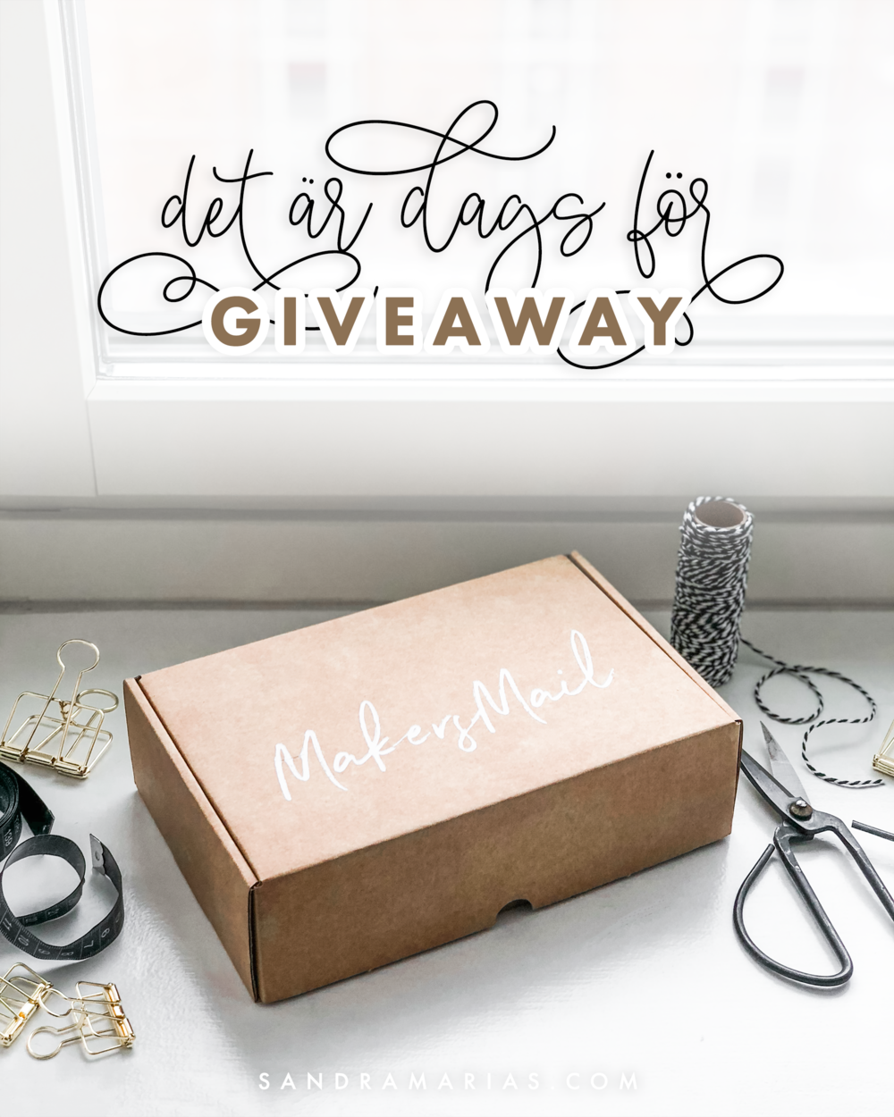 Makers Mail Giveaway | By Sandramaria | Sandramarias.com