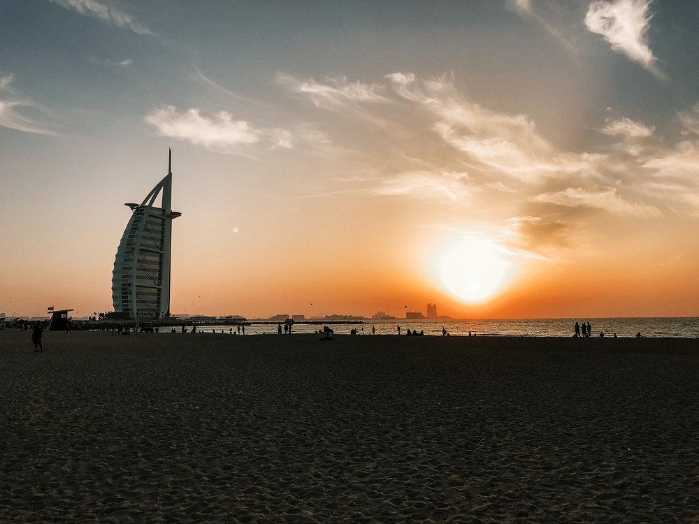Dubai A-Ö   Dubai reseguide   Travel Guide Dubai   Jumeirah Public Beach   By Sandramaria   Sandramarias.com