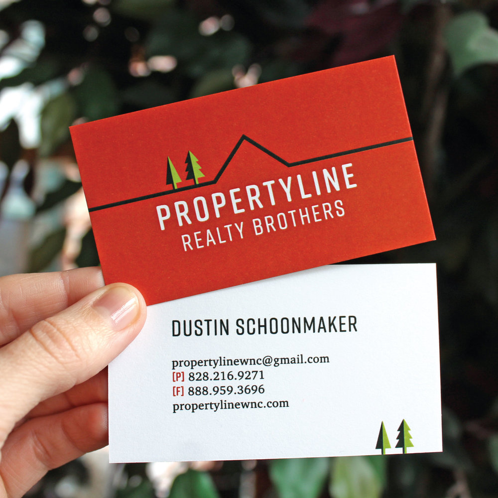 Asheville Business Cards
