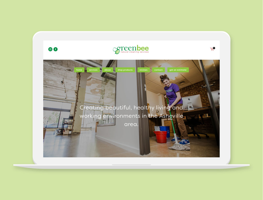 Greenbee Cleaning    Cleaning Company in Asheville, NC  Project Details  Visit Website