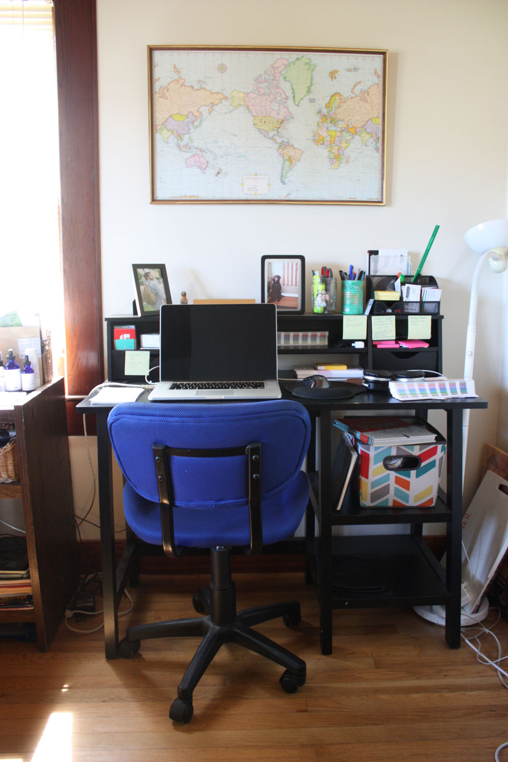 My first home office/desk situation