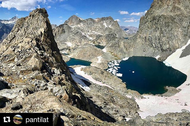 """Take only the memories and leave the land as you found it so the next visitor can be inspired"" . . . Repost @pantilat  Thankful for wild and unspoiled places where the greatest reward is the experience. #highsierra #keepitwild #ourwild #runwild #lasportivana #runwithud"