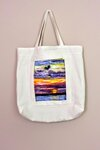 Sunset Print Shareables Bag by Tracey Peer and Inclusivi-Tee