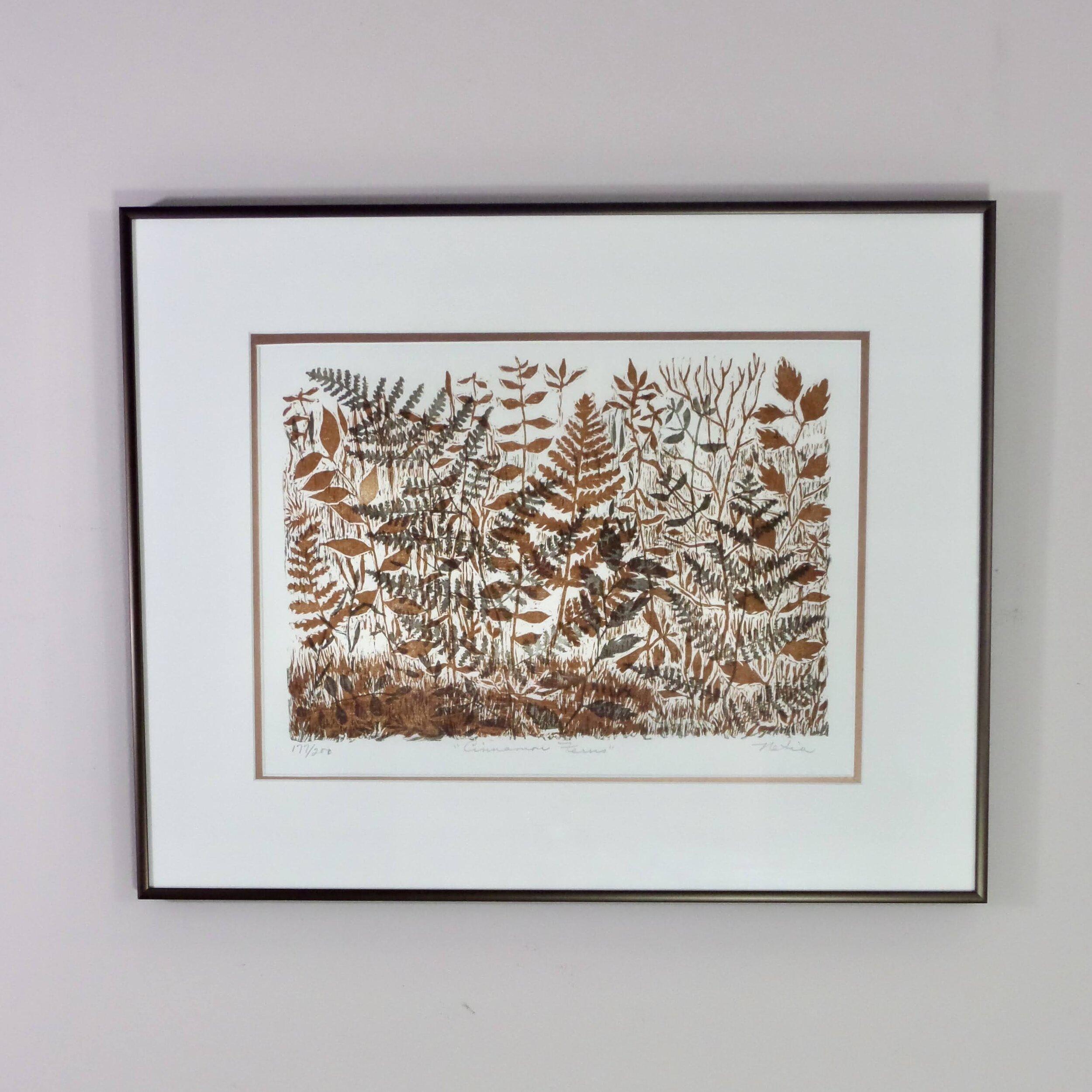 Cinnamon Ferns by Netia Worley