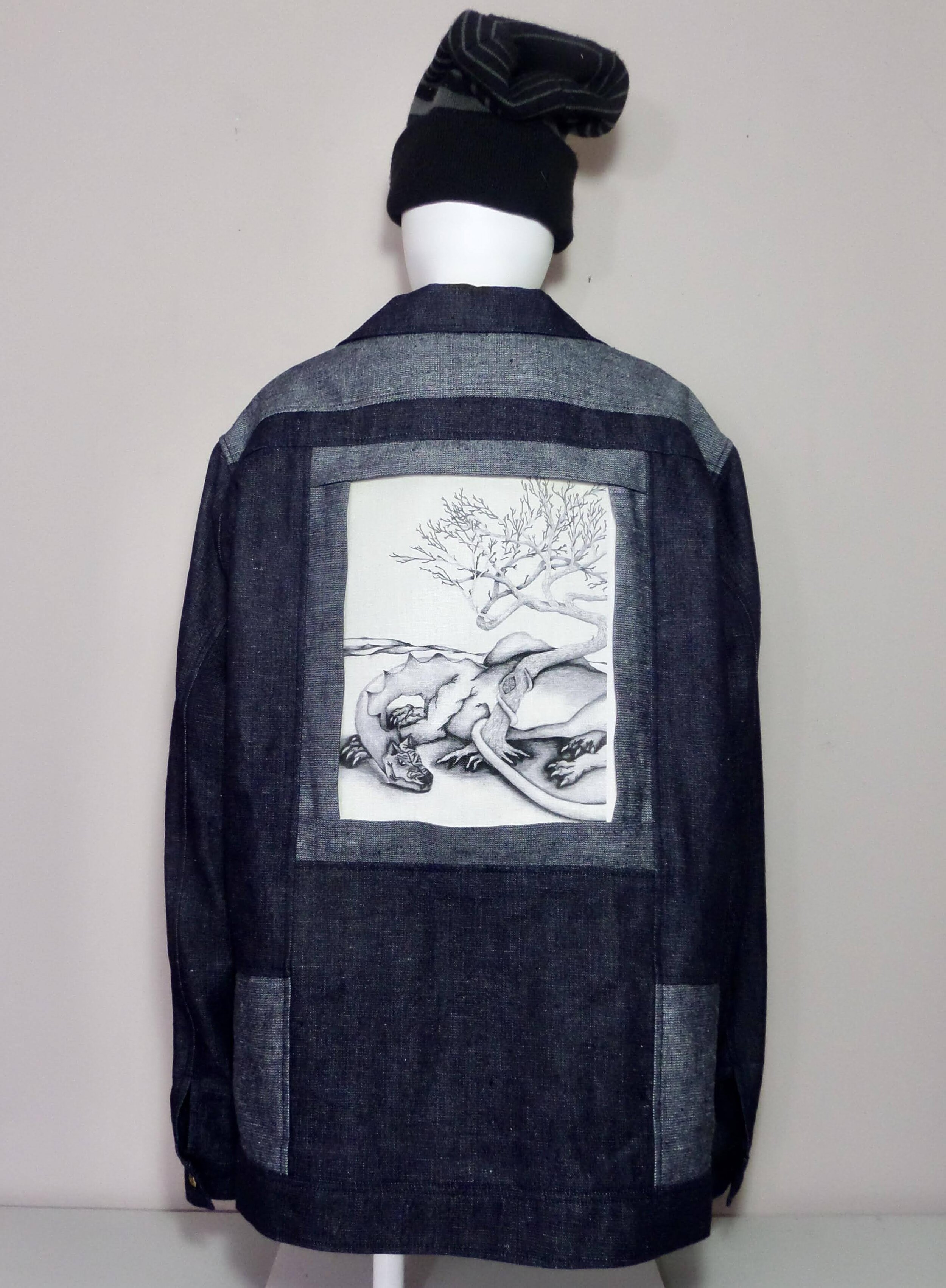 Self to Sleep Print Shareables Jacket by James Boggs and Inclusivi-Tee