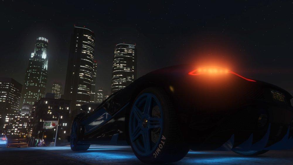 GTA game footage