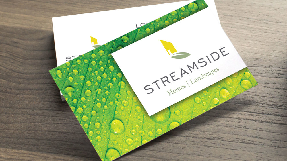 Streamside Business Card  Copyright © 2012-2017 460 Communications Inc. All rights reserved.  This design is intended strictly for portfolio use only and cannot be reproduced in any way with out written consent from 460 Communications Inc.
