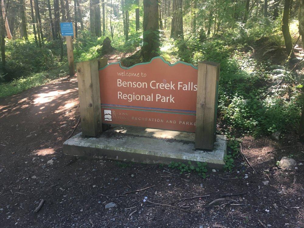 Benson Creek Falls Regional Park