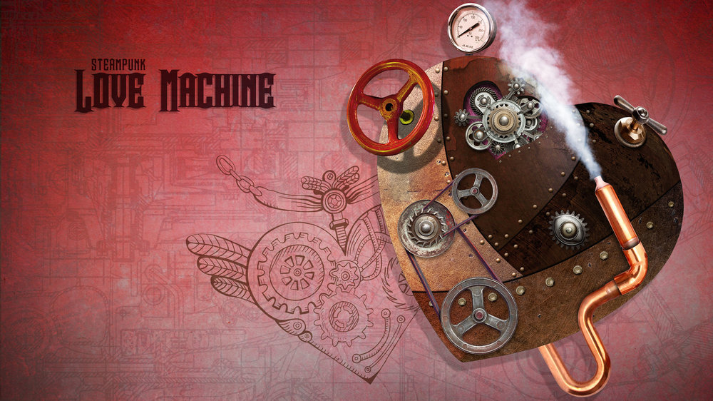 Love Machine Wallpaper  Copyright © 2012-2017 460 Communications Inc. All rights reserved.  This design is intended strictly for portfolio use only and cannot be reproduced in any way with out written consent from 460 Communications Inc.  ·  Photoshop