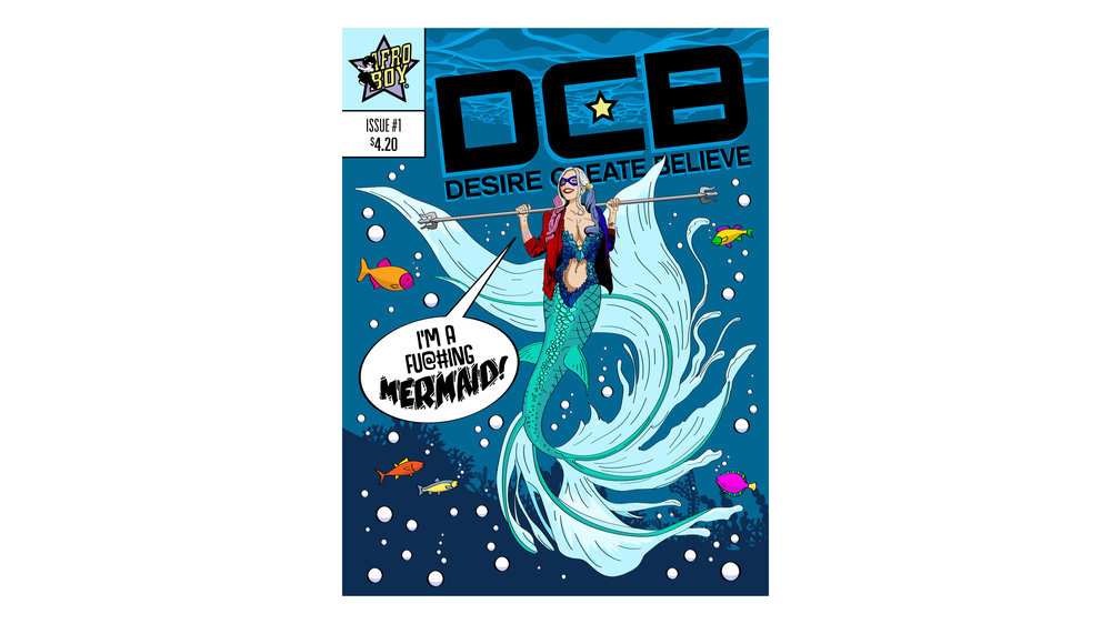 DCB Im A Fu@#ing Mermaid     Copyright © Afro Boy Productions. All rights reserved. ·  Illustrator