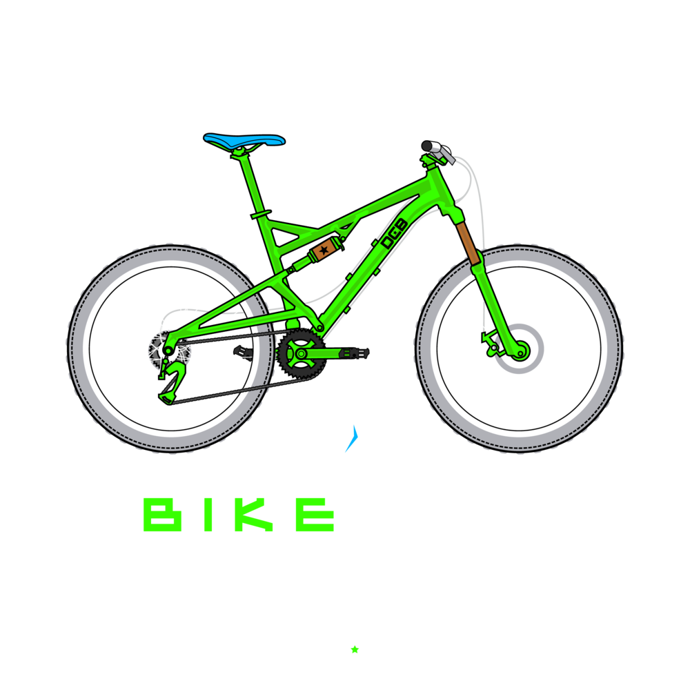 Bike Life Full Suspension Green Machine.png