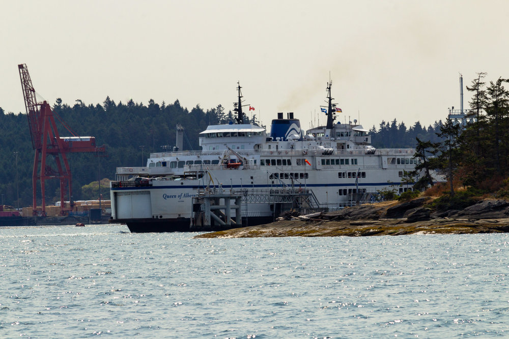 Ferry Ride to Gabriola Island