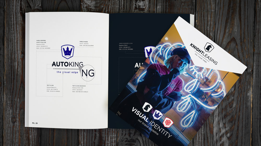 KNIGHT LEASING  Brand Guide  Copyright © Afro Boy Productions. All rights reserved.   View flip book